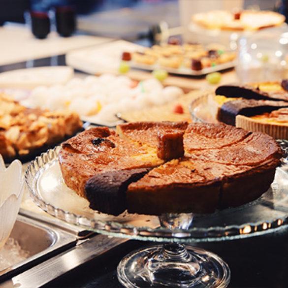 Les pâtisseries de notre buffet à volonté